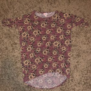 Lularoe soft floral top